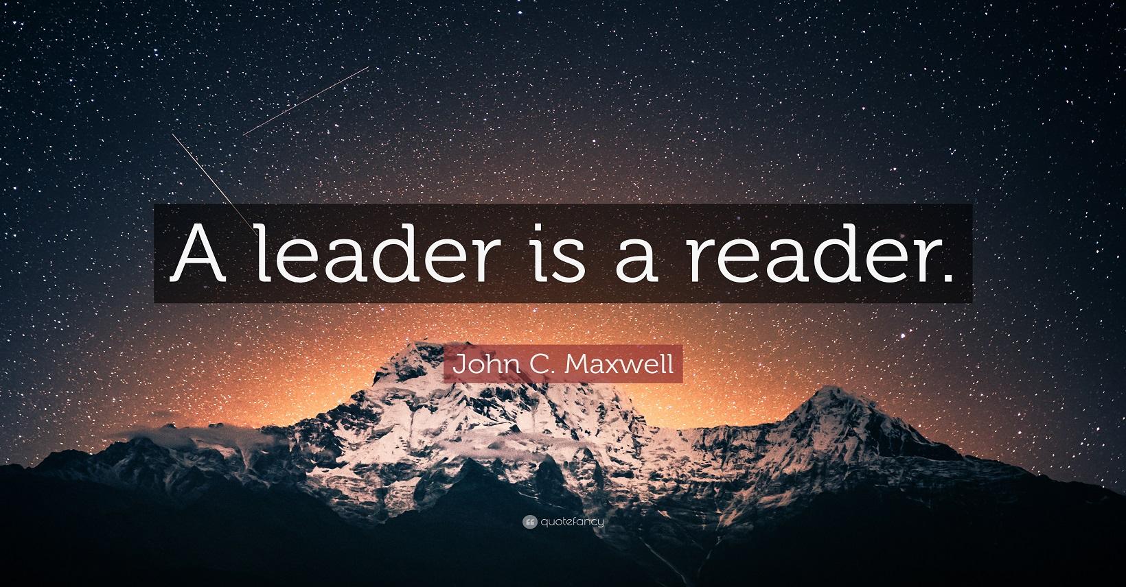 Leader is Reader-自分の人生を切り拓く-